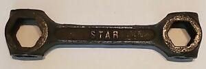 RARE Vintage STAR DEPOSE Dog Bone Bicycle Wrench - 8 Way Multi Tool