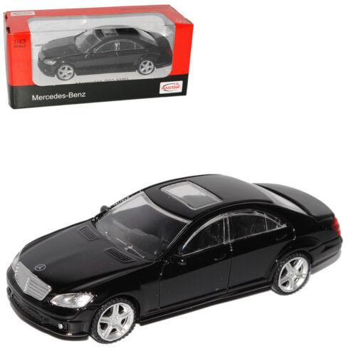 Mercedes-benz clase s w221 s63 AMG negro 2005-2013 1//43 Rastar modelo auto mié