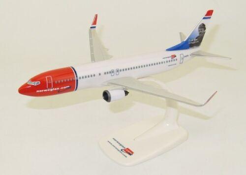 Norwegian Boeing 737-800 Erik Bye 1//200 scale modellflugzeuge NEU