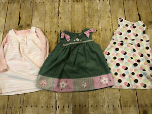 Girls-Clothes-Lot-Size-2T-24-Months-Fall-Winter-Dresses-Gymboree-Carters