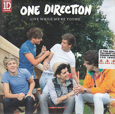 ONE DIRECTION Live While We're Young 2011 UK 1-trk numbered promo test CD sealed