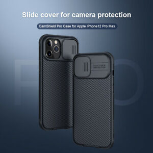 For-iPhone-12-Pro-Max-Case-Nillkin-Slide-Camera-TPU-PC-Back-Lens-Cover-Shield