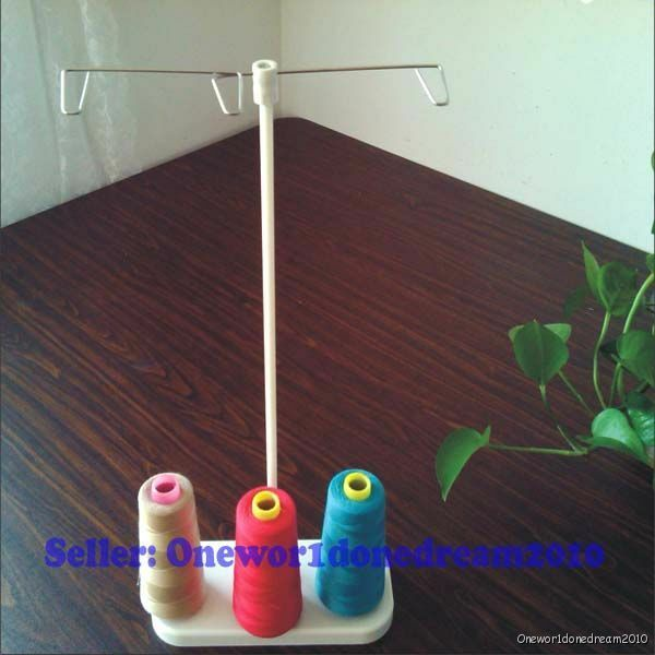 One 3 Sewing Thread Spool Embroidery Holder Light Weight for Home Sewing Machine