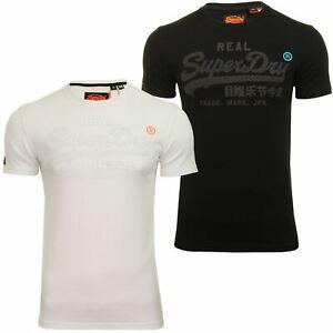 Superdry-039-Monochrome-039-Mens-T-Shirt