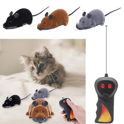 Elektrische Drahtlose Fernbedienung RC Ratte Maus Spielzeug Haustier Katzen