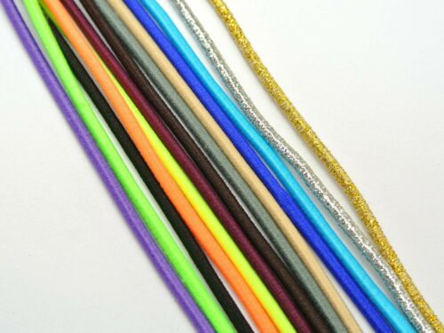 10 Meters Mixed Color Elastic Stretch String 2.5mm Shock Cord For Sewing Crafts