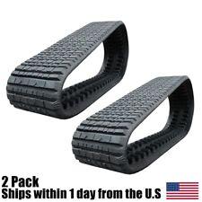 2pk Multi Bar Tread Rubber Track 457x1016x51 18 Wide For Caterpillar 287 287b