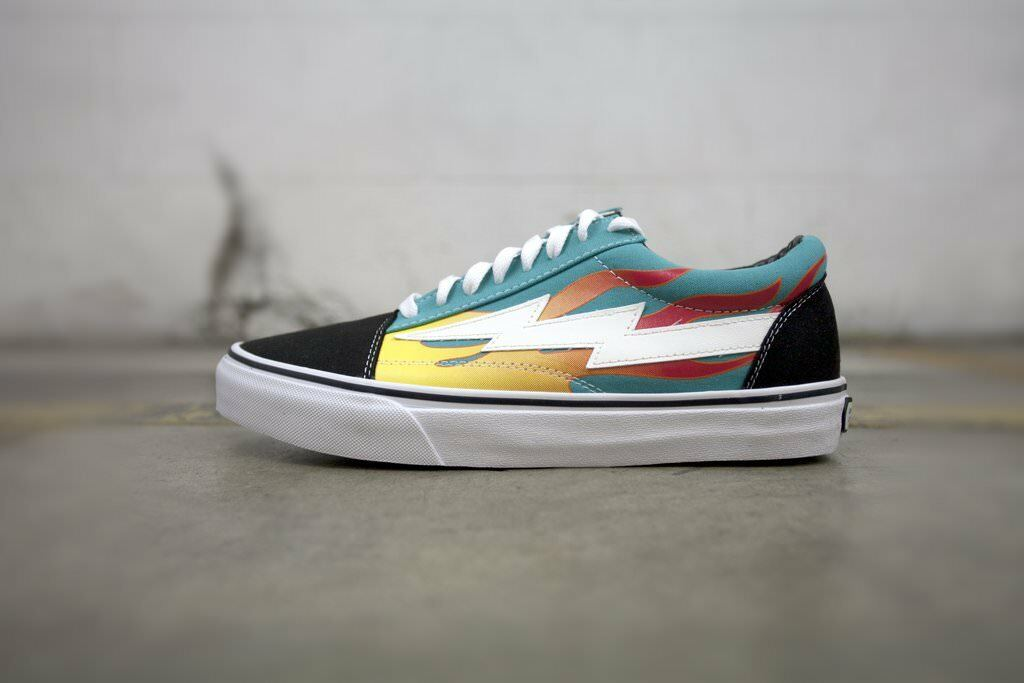Brand New In Hand Revenge X Storm Teal Flame Shoes Size 9
