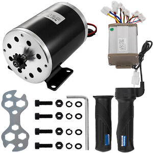 1000W-48V-Electric-Motor-Kit-w-Base-Speed-Control-amp-Thumb-Throttle-for-Scooter