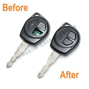 For Suzuki Swift Ignis SX4 2 Button Remote Key REPAIR SERVICE REFURBISHMENT FIX