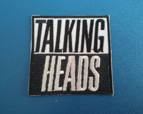TALKING HEADS ROAD TO NOWHERE IRON ON PATCH: PUNK ROCK HEAVY METAL MUSIC SEW