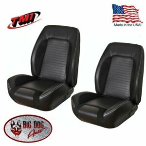 Incredible Details About Sport R Front Bucket Seat Upholstery For 1967 68 Camaro Tmi Made In Us Onthecornerstone Fun Painted Chair Ideas Images Onthecornerstoneorg