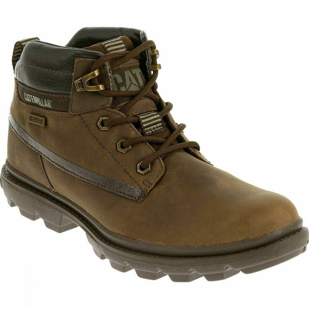 Caterpiller Grady botas P719110 Marrón Leather Waterproof botas Grady 2dfb43