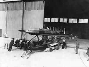 OLD-LARGE-PHOTO-AVIATION-HISTORY-The-Savoia-Marchetti-65-seaplane-c1930