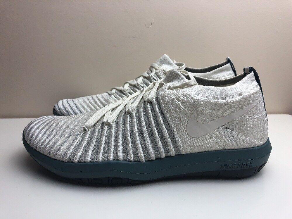 Nike Lab Free Transform Flyknit Shoes White