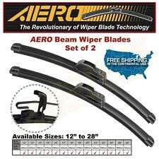 "AERO 26"" + 17"" OEM Quality Beam Windshield Wiper Blades (Set of 2)"
