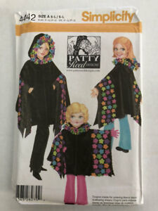 53b9045ef Image is loading Simplicity-Sewing-Pattern-4442-Childs-and-Misses-Fleece-