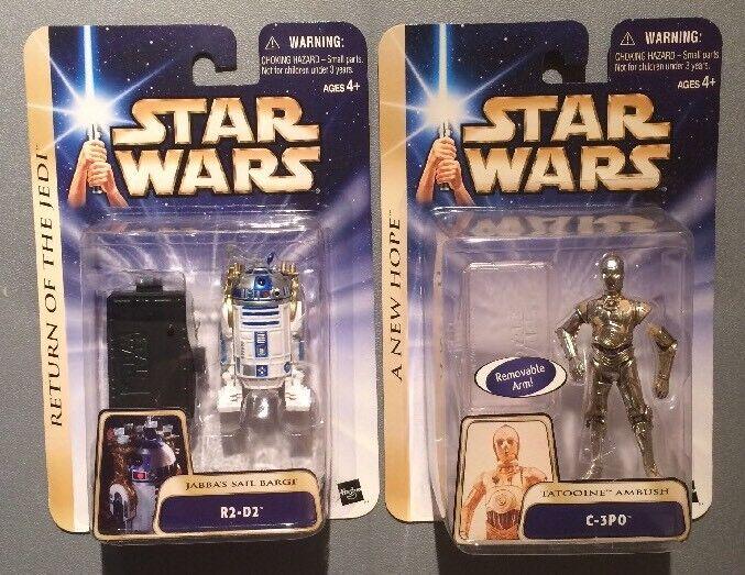 2003 - 2 x star - wars - saga - r2 - d2 - als getränke - & c - 3po ⭐️ mint ⭐️