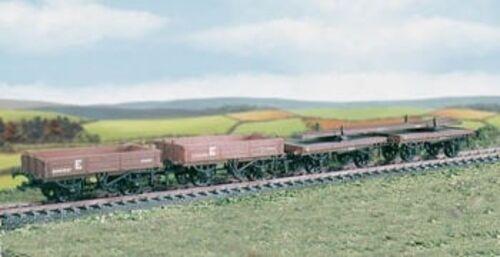OO wagon kit - Permanent Way set of 4 wagons + loads - Ratio 575 - free post