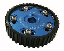 OBX Blue Adj Cam Gear Sprocket Fits 97 98 99 CL F22 F23 1992-96 Prelude H23 F22