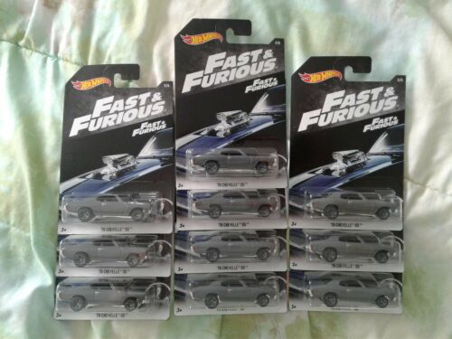 NEW 2018 HOT WHEELS FAST AND FURIOUS /'70 CHEVELLE SS