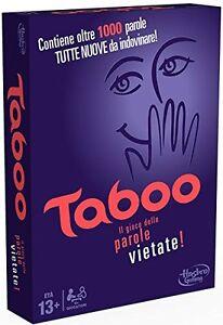 TABOO gioco società versione italiana A4626103 HASBRO -nuovo-Italia