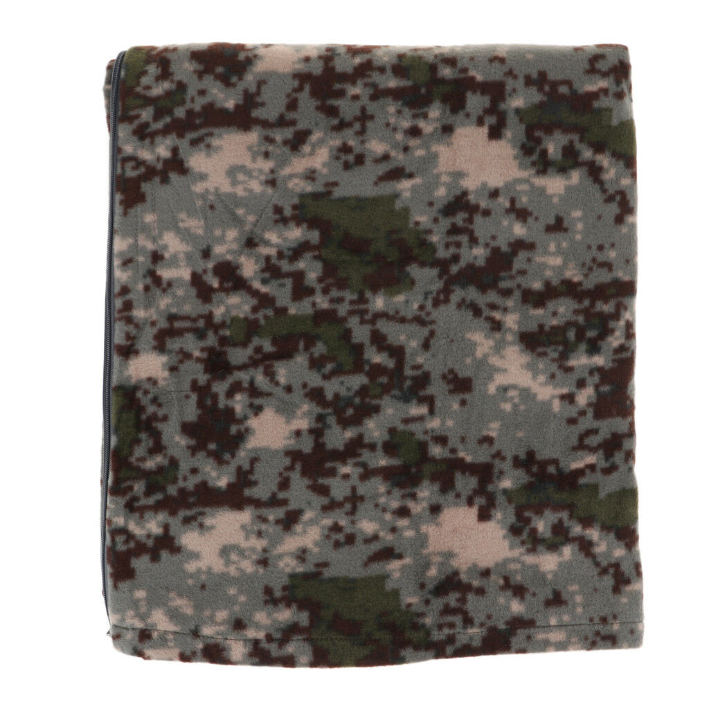 Portable Travel Camping Polar Fleece Sleeping Bag Liner Blanket Quilt Mat