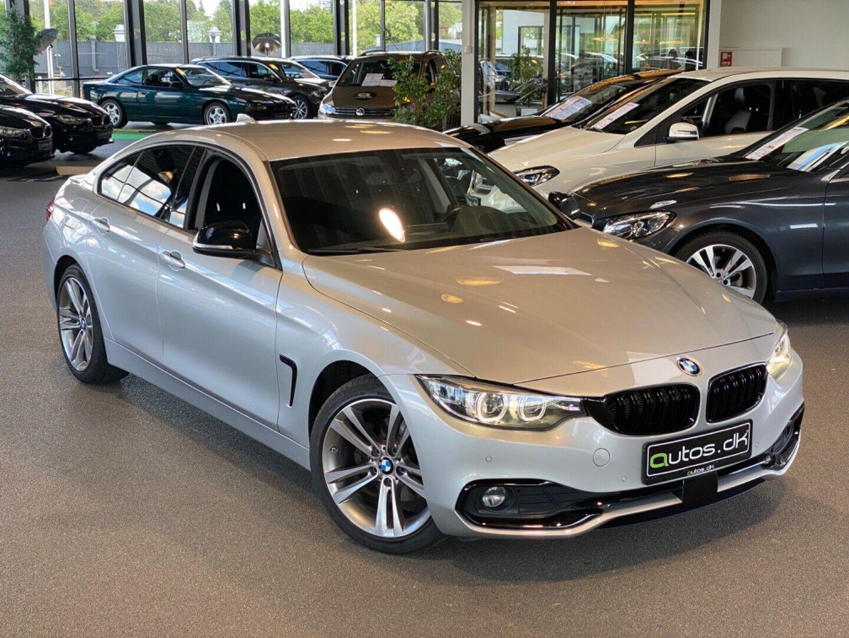 BMW 420d 2,0 Gran Coupé Sport Line aut. 5d - 319.000 kr.