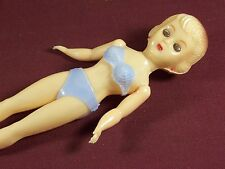 Vintage Plastic Risque Pin Up Figure Girl in Bathing Suit