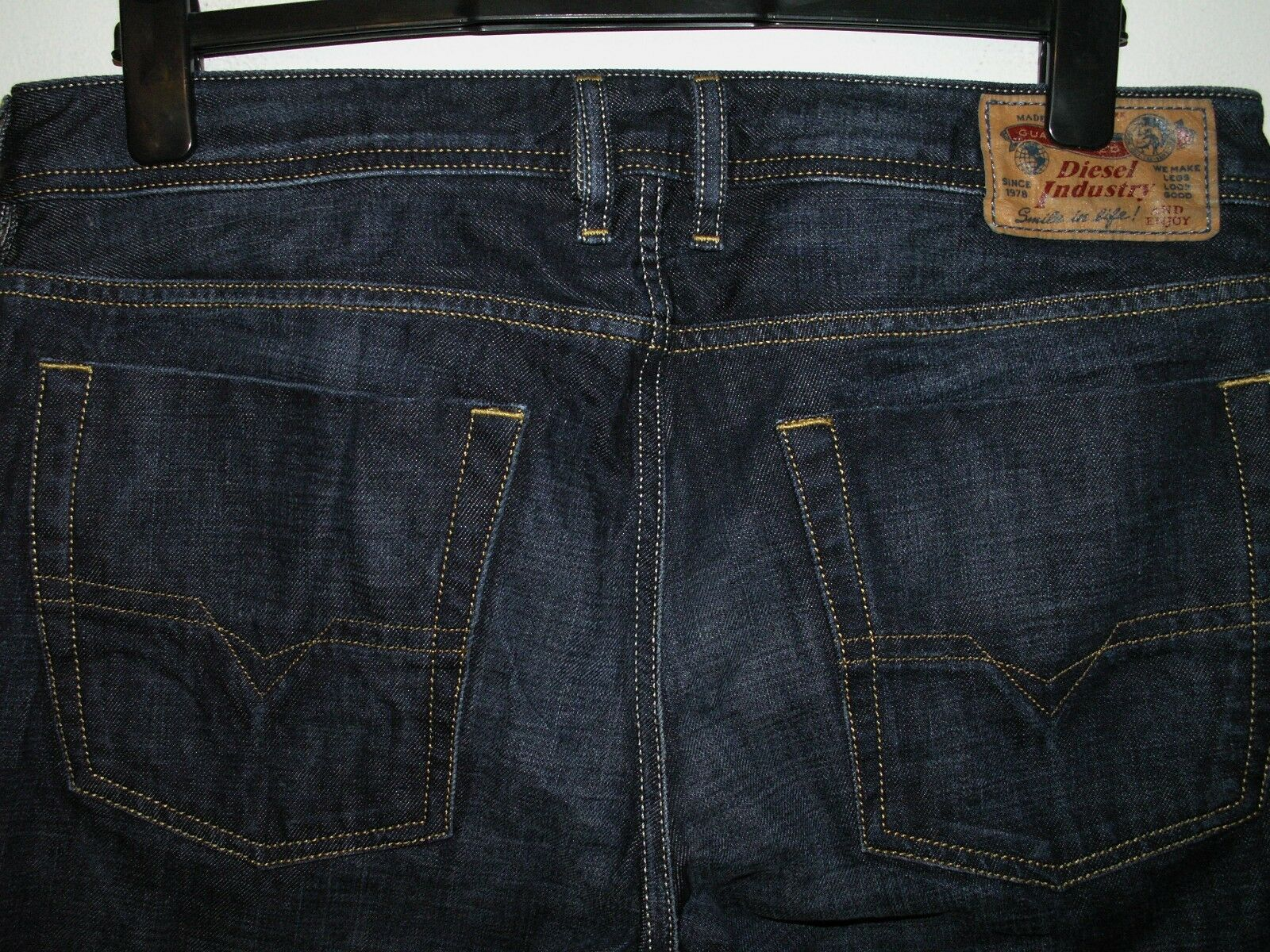 DIESEL DIESEL DIESEL Jeans avviocut Zatiny Lavare 0074W W34 L34 (a3646) c8bcb5