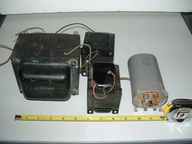 HIGH VOLTAGE TRANSFORMER & PARTS for 600V @ 200ma+ TUBE AMPLIFIER  POWER SUPPLY