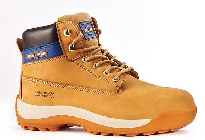 Rock Fall Pro Man Orlando Tc35c S3 Honey Nubuck Steel Toe Cap Work Safety Boots Work Boots & Shoes Personal Protective Equipment (ppe)