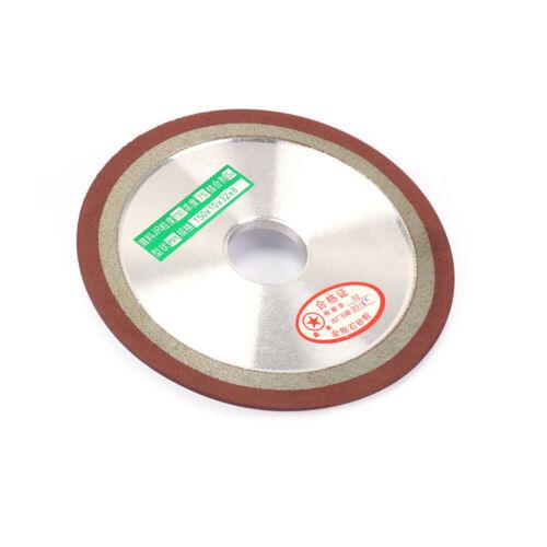 "8/"" Resin Diamond Grinding Wheel Carbide Metal Cutter Sharpener Grinder Disc 3/"""