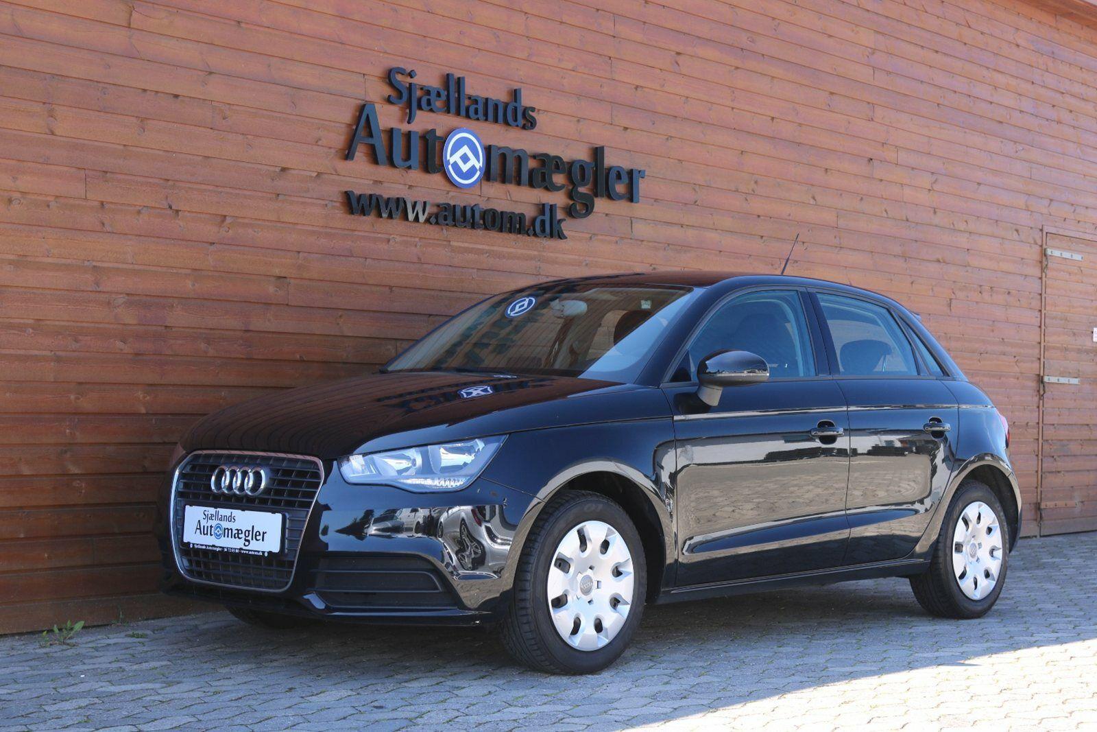 Audi A1 1,6 TDi 90 Attraction SB 5d - 117.500 kr.