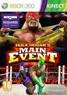 Hulk Hogan's Main Event - Microsoft Xbox 360 PAL 16 Fighting Game