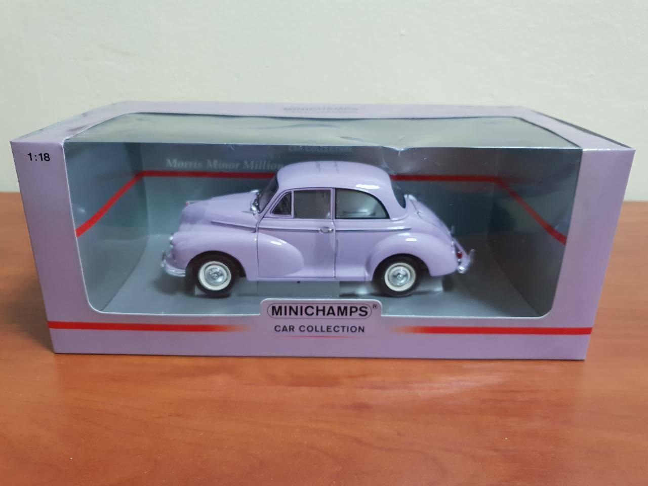 1 18 Minichamps Morris Minor Series III Million 1960 Minichamps   150 137001