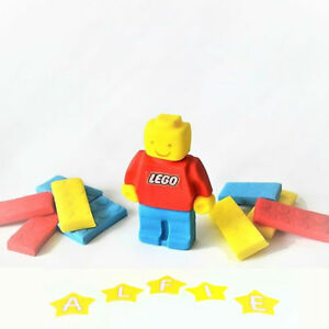 Details about LEGO cake toppers edible decoration personalised birthday  unofficial