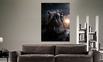 1100 BATMAN VS SUPERMAN MOVIE Photo Picture Poster Print Art A0 A1 A2 A3 A4