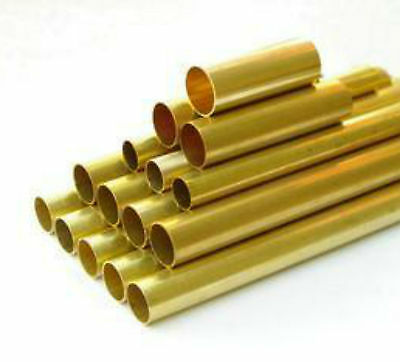 2pcs Brass Tube Outer Diameter 8mm, Inner Diameter 6mm, Length 500mm #E3-7