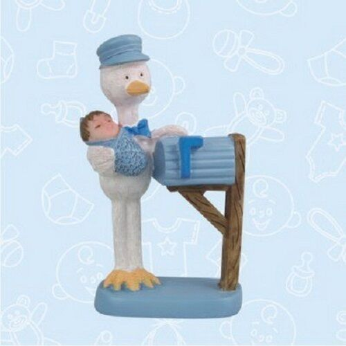 Baby Shower Baby Stork Mail Man Favor in Box Favors Gift Choose Color