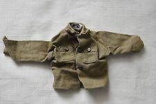 "Vintage Hasbro GI Joe 12"" 1/6 scale Japan Olive Green Military Shirt VJ-025"