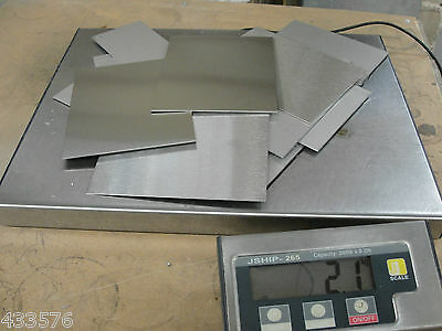 Stainless Steel 304/201 Sheet Offcuts 1.8 Kg's - Stainless Steel Non Magnetic
