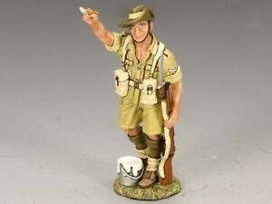 Roi et pays 8ème armée australienne signe peintre Ea060 Ea60