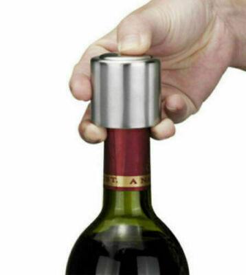 Bouchon /à champagne r/éutilisable en acier inoxydable pour bouteille de vin mousseux bouchon scellant pratique bouchon de cuisine outil