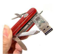 USB Stick 8GB  Taschenmesser Lampe Kugelschreiber