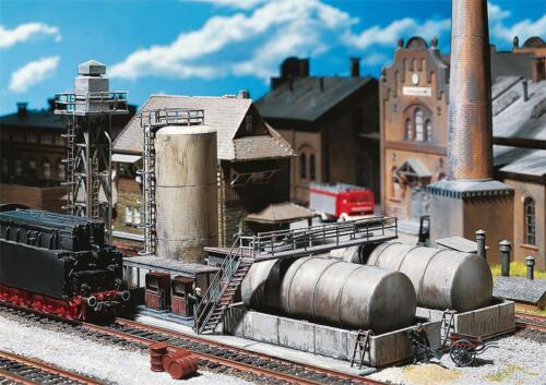 Faller 120157-1//87 Neu H0 Öllager Mit Dieseltankstelle /& Ölkran