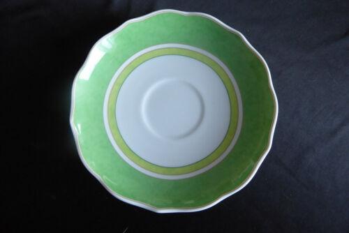 Hutschenreuther Summerdream Green Untertasse für TEETASSE 14 cm normale Spuren