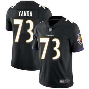 Details about Marshal Yanda Men Game Jersey in Black Ravens