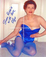OLGA ZDROK - MATURE MODEL SEXY IN LINGERIE AND NYLONS LEGGY MILF PHOTO MI-OZ7