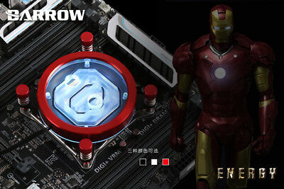 Barrow Energy CPU Block for Intel 115X Red
